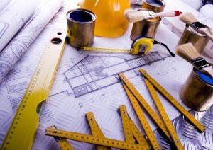 Bauplan und Baugenehmigung