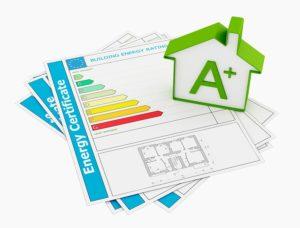 Energieeffizienz:  Energieeinsparverordnung für alle beheizten oder klimatisierten Gebäude.