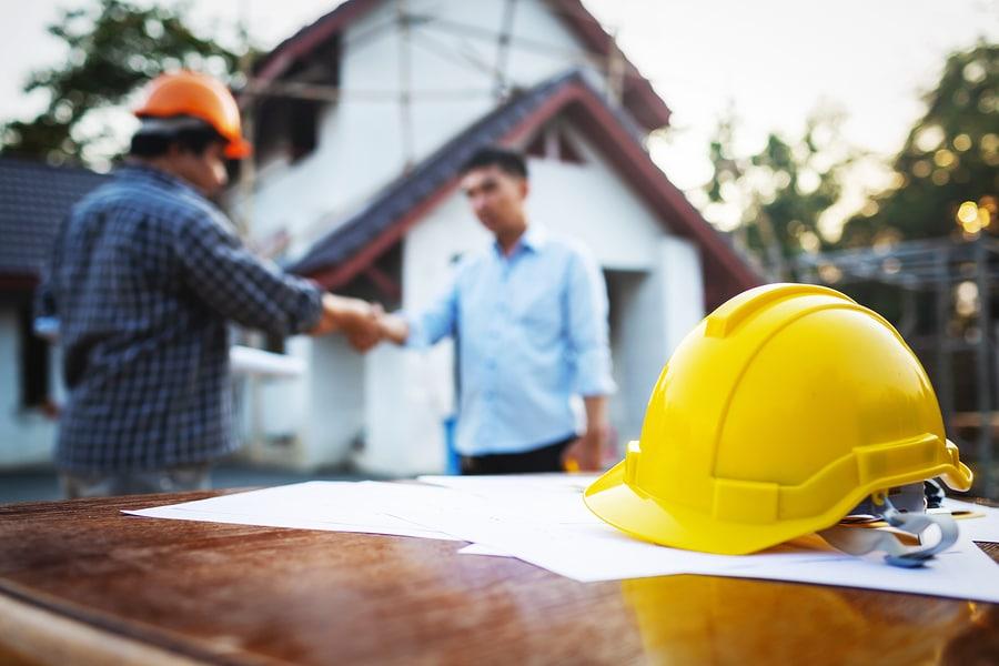 Bauvertrag: Gebäude ist so zu errichten das Mindestluftwechsel sichergestellt ist