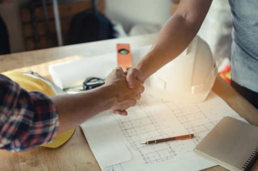 Architektenvertrag - konkludente Abnahme der Architektenleistung