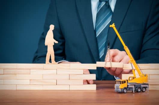 Stellung einer Bauhandwerkersicherung