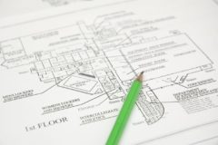 Gehen Baupläne einer Lageskizze vor?
