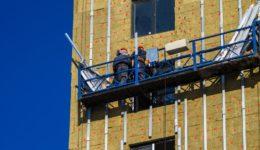 Restwerklohnanspruch für Bearbeitung von Platten für Fassadenverkleidung