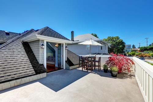 Bauantrag für Dachterrasse auf dem Flachdach eines genehmigten Mehrfamilienhauses