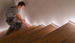 Verkehrssicherungspflichten eines Bauunternehmers bei Treppenarbeiten